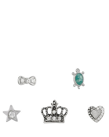BETSEYS CROWN 5 STUD SET