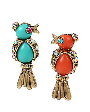 BETSEYS DELICATES BIRD STUD EARRINGS