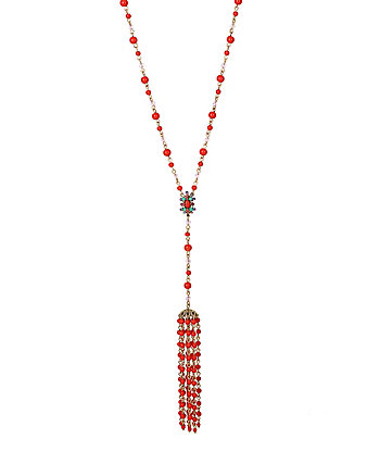 BETSEYS DELICATES CORAL Y NECKLACE