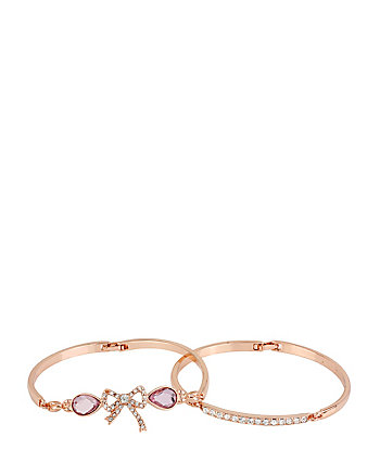 BETSEYS FAVE BOW BANGLE DUO