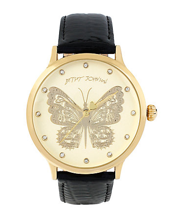 BETSEYS FAVORITE CHAMPAGNE BUTTERFLY WATCH