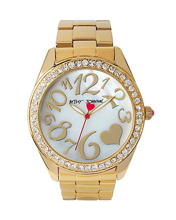 BETSEYS GOLD WONDERLAND WATCH
