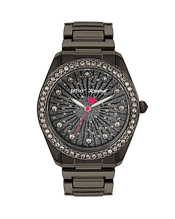 BETSEYS HOLIDAY BLACK BUBBLES WATCH