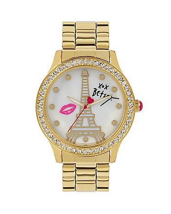 BETSEYS HOLIDAY EIFFEL TOWER WATCH