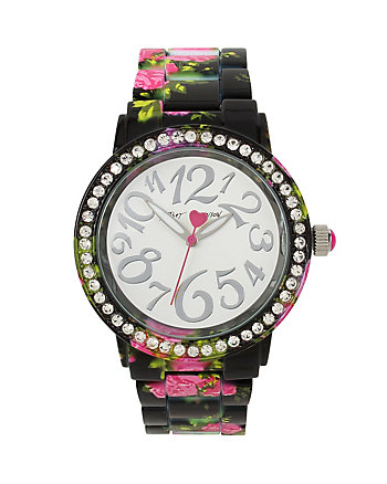 BETSEYS HOLIDAY FALLING FOR FLORAL WATCH