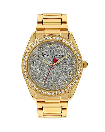 BETSEYS HOLIDAY GOLD BUBBLES WATCH