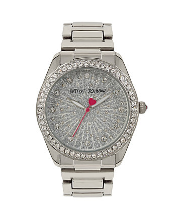 BETSEYS HOLIDAY SILVER BUBBLES WATCH
