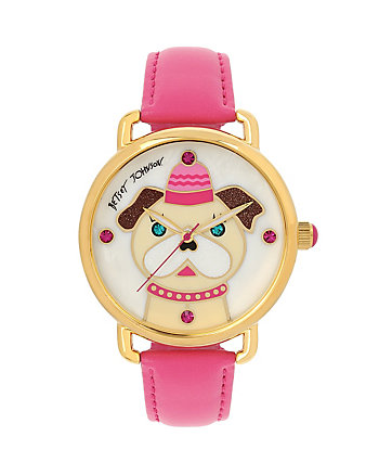 BETSEYS HOLIDAY SWEET PUPPY WATCH