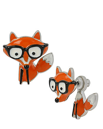 BETSEYS MINIS FOX EARRINGS