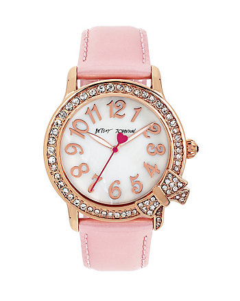BETSEYS PINK BOWTASTIC WATCH