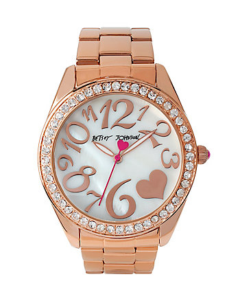 BETSEYS ROSEGOLD WONDERLAND WATCH