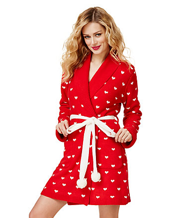BETSEYS SKI BUNNIES COZY SWEATER ROBE