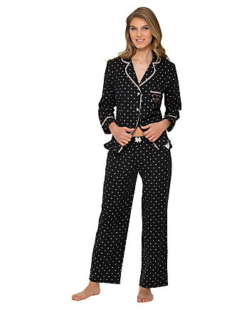 BETSEYS WINTER WONDERLAND FLANNEL PJ SET