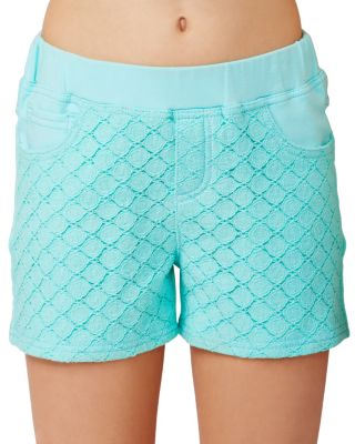 BJ GIRLS MINT SHORTS MINT GREEN