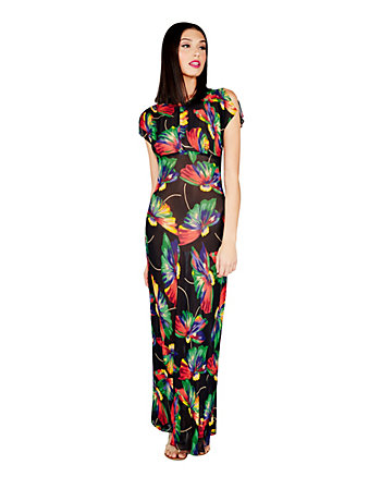 BJ VINTAGE AROSA MAXI DRESS