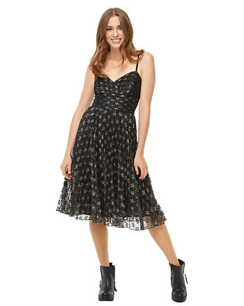BJ VINTAGE PARTY ALL NIGHT DRESS