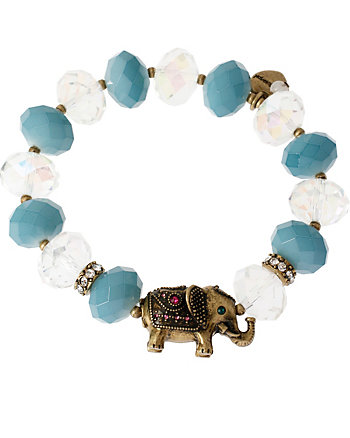 BJS MENAGERIE ELEPHANT STRETCH BRACELET