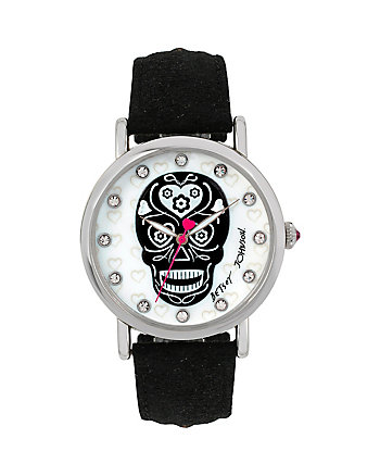 BJS SUGAR SKULL BLACK WATCH