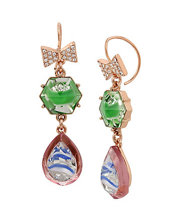 BOARDWALK SWEETS BOW EARRINGS