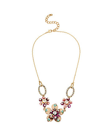 BOARDWALK SWEETS FLOWER NECKLACE