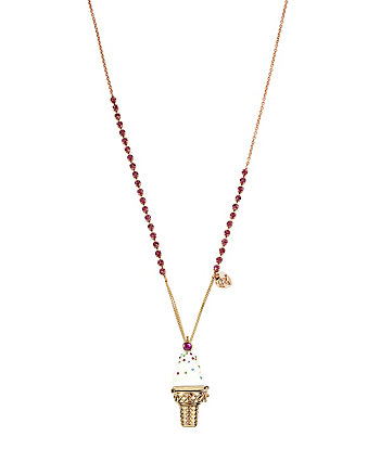 BOARDWALK SWEETS ICE CREAM LONG NECKLACE