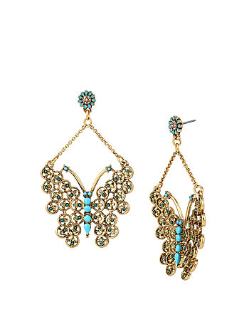 BOHO BETSEY BUTTERFLY EARRINGS