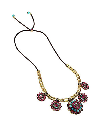 BOHO BETSEY CLUSTER FRONTAL NECKLACE