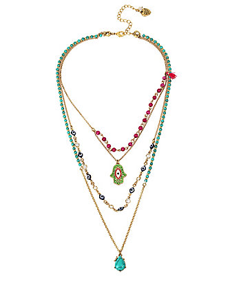 BOHO BETSEY ILLUSION NECKLACE