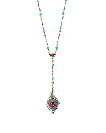 BOHO BETSEY LONG Y NECKLACE