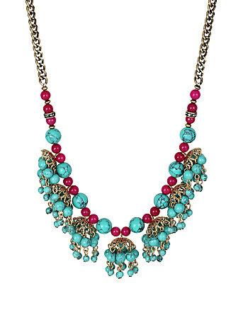 BOHO BETSEY SHAKY FRONTAL NECKLACE