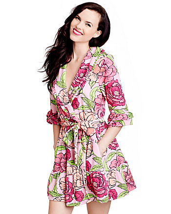 BOHO CHIC VINTAGE TERRY ROBE