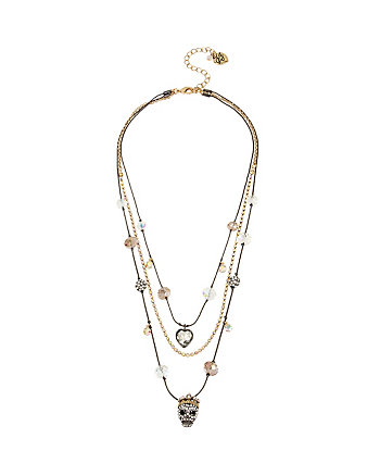 BOLDEST BETSEY SKULL ILLUSION NECKLACE