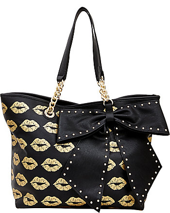 BOW-LETTE LIPS TOTE