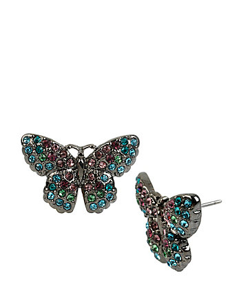 BUTTERFLY EFFECT BUTTERFLY STUD EARRINGS