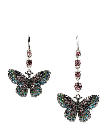 BUTTERFLY EFFECT MISMATCH BUTTERFLY EARRINGS