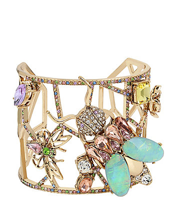 BUZZ OFF INSECT CUFF BRACELET