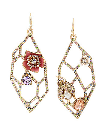 BUZZ OFF OPENWORK EARRINGS