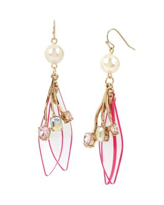 BUZZ OFF SHAKY DROP EARRINGS MULTI