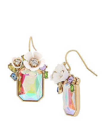 BUZZ OFF STONE DROP EARRINGS