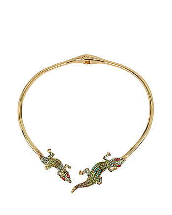 CALYPSO BETSEY ALLIGATOR COLLAR
