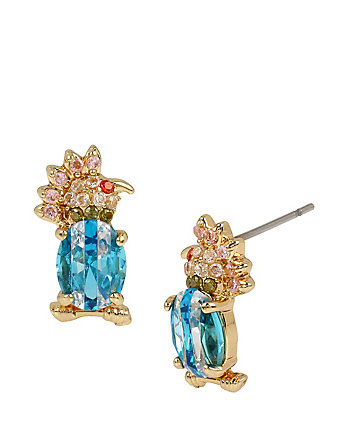 CALYPSO BETSEY BIRD STUD EARRINGS