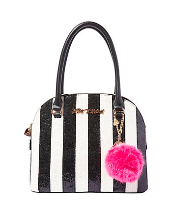 CANDY CANE DOME SATCHEL