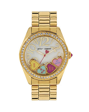 CANDYLAND SHAKY HEART WATCH