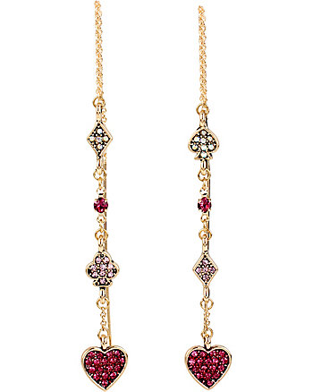 CASINO ROYALE PAVE LINEAR EARRINGS