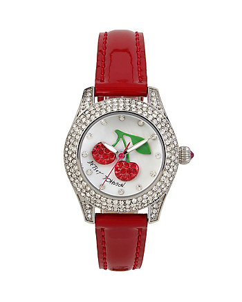 CHERRIES ON TOP SHIMMER WATCH