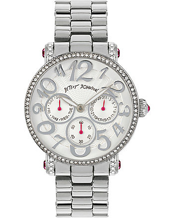CITY SLICKERS SILVER WATCH