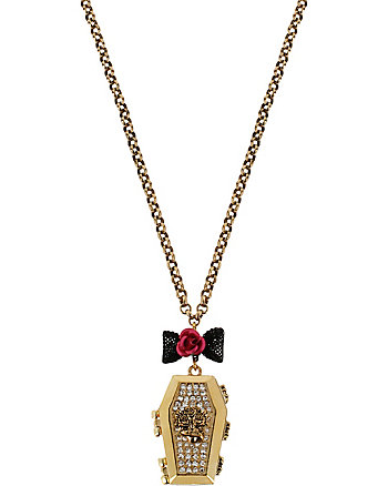 COFFIN PENDANT NECKLACE