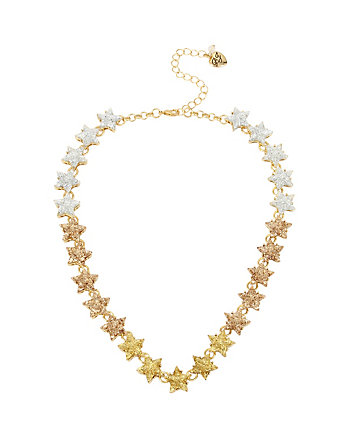 CONFETTI GOLD STAR GLITTER NECKLACE