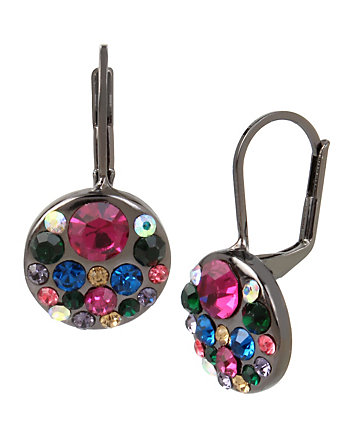 CONFETTI MULTI CLUSTER DROP EARRING