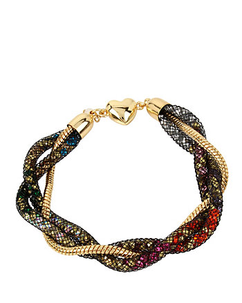 CONFETTI MULTI TWIST TUBE BRACELET